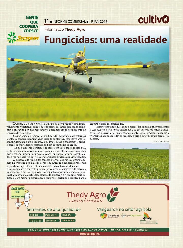 Fungicidas: Uma realidade