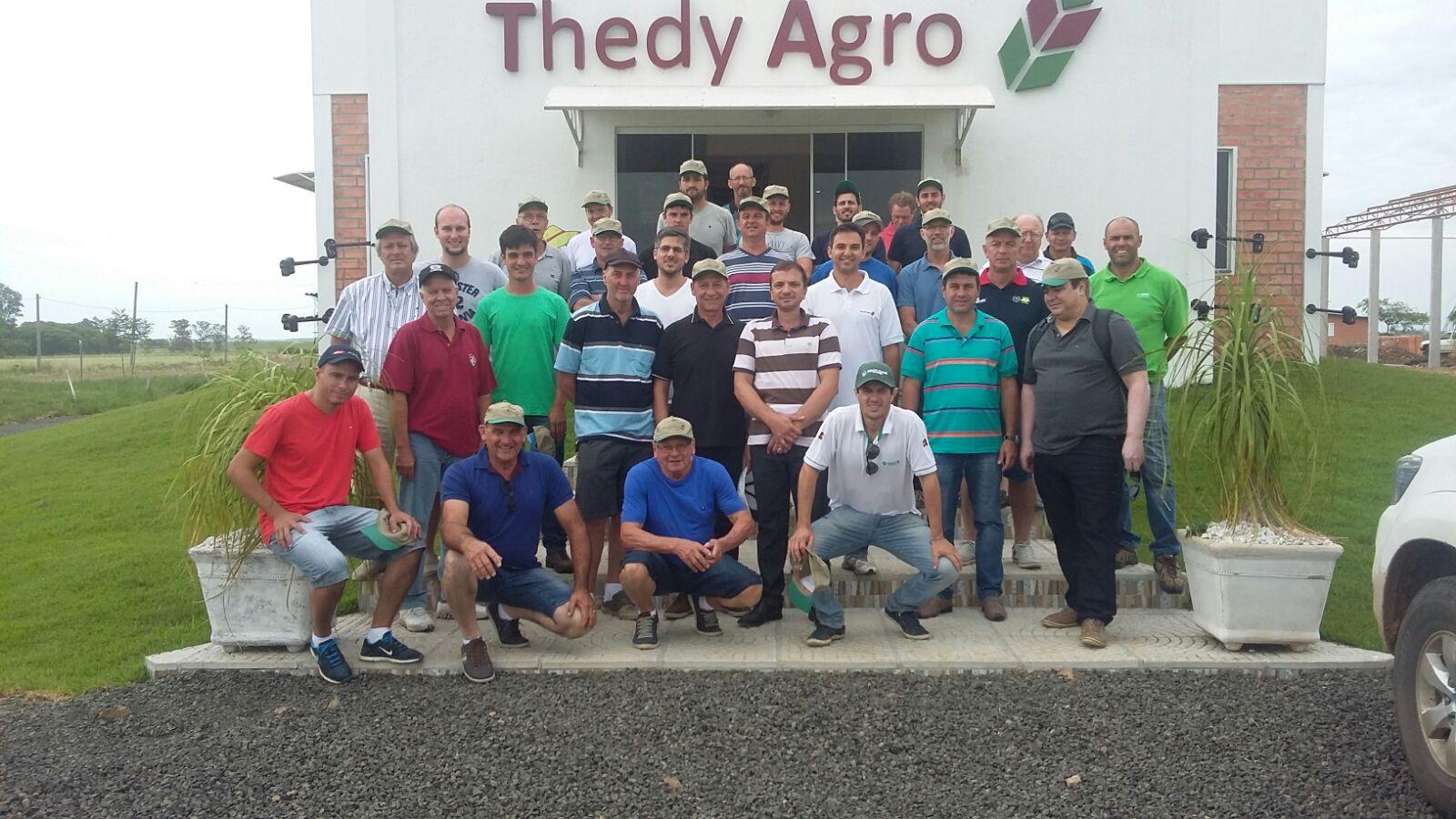 Visita de produtores de Santa Catarina a ThedyAgro