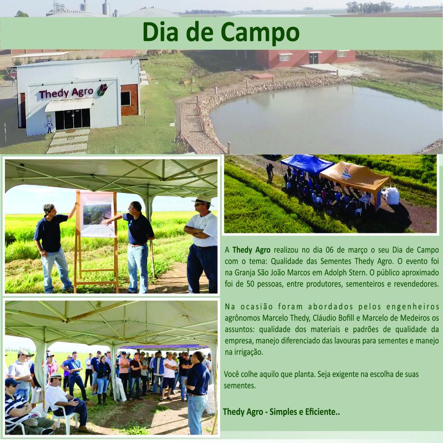 Dia de campo – Qualidade das Sementes Thedy Agro