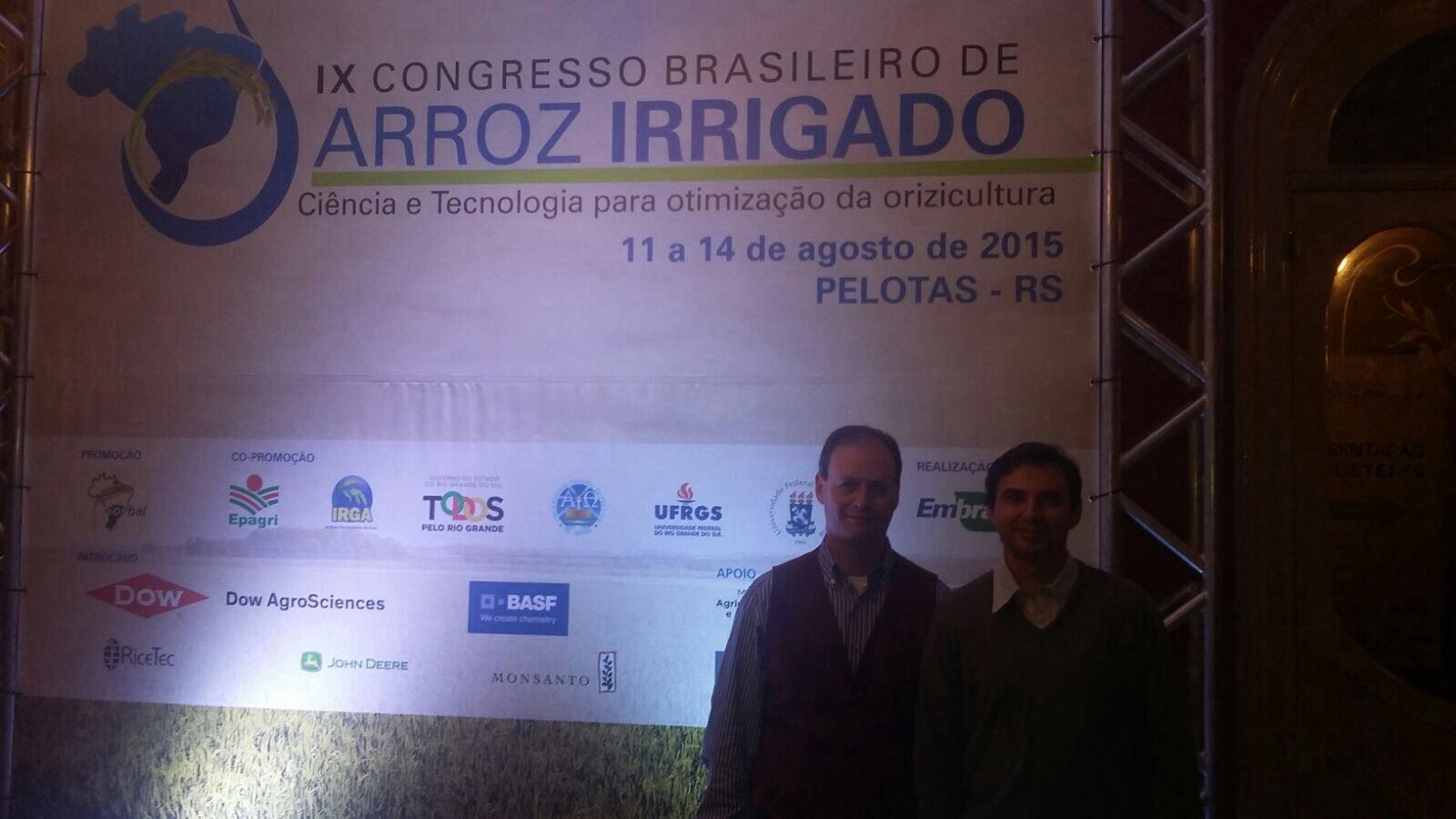 Thedy Agro presente no IX Congresso Brasileiro de Arroz Irrigado