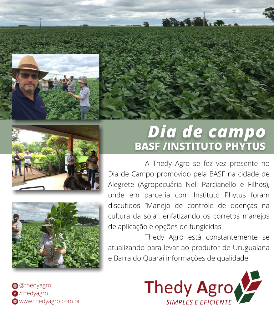 Dia de Campo Basf / Instituto Phytus em Alegrete – RS